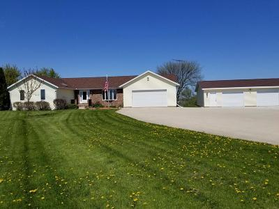 Dodge County Single Family Home For Sale: N3771 Oconnor Rd Road
