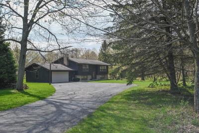Dodge County Single Family Home For Sale: W1747 Pond Rd Road