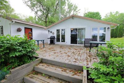 Green Lake County Single Family Home For Sale: N5129 Fox River Ln Lane
