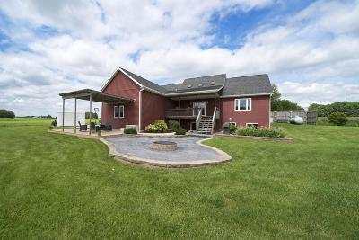 Dodge County Single Family Home For Sale: N1691 Welsh Rd Road