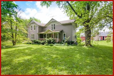 Dodge County Single Family Home For Sale: W10417 Hubbleton Rd Road