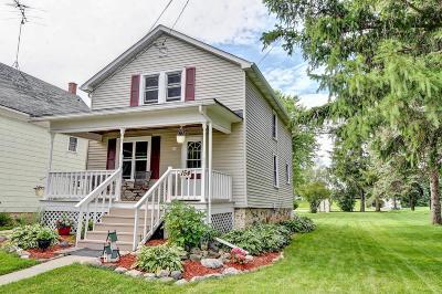 Campbellsport Single Family Home For Sale: 154 Martin St Street