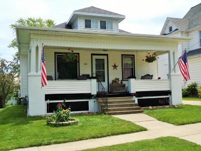 Campbellsport Single Family Home For Sale: 128 South Poplar St Street