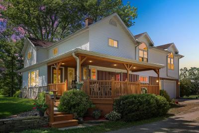 Oakfield Single Family Home For Sale: W3518 N Line Rd Road