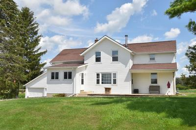 Fond du Lac County Single Family Home For Sale: N4459 Log Cabin Rd Road