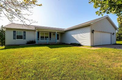 Dodge County Single Family Home For Sale: N7648 Freedom Rd Road