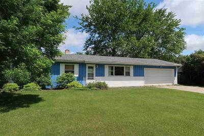 Green Lake County Single Family Home For Sale: W3780 Beyers Cove Rd Road