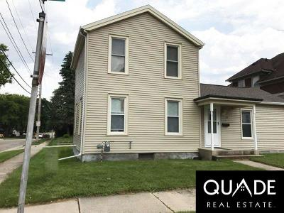 Waupun Single Family Home For Sale: 129 North Mill St Street