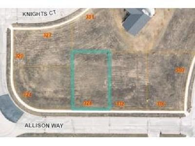 Fond du Lac County Residential Lots & Land For Sale: L53 Allison Way Way