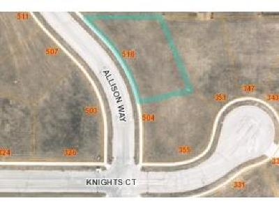 Fond du Lac County Residential Lots & Land For Sale: L62 Allison Way Way