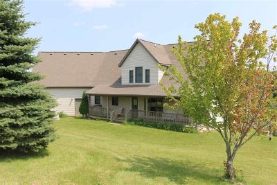 Fall River Single Family Home For Sale: N4395 County Road Cd