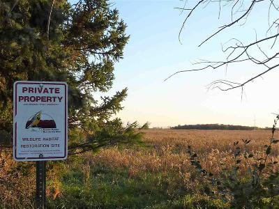 Fond du Lac County Residential Lots & Land For Sale: 40 Ac Amity Rd Road