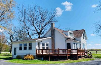 Fall River Single Family Home For Sale: N3451 County Road Dg