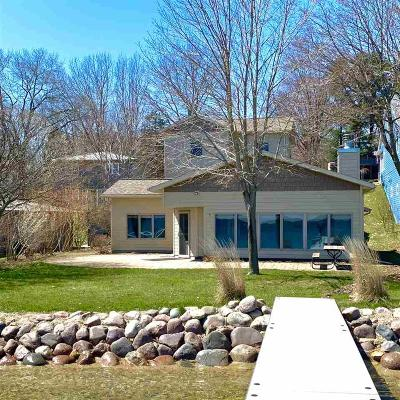 Green Lake County Single Family Home For Sale: N4480 South Lakeshore Dr Drive