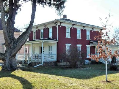 Dodge County Single Family Home For Sale: 223 West Main St Street