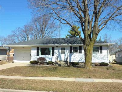 Dodge County Single Family Home For Sale: 208 Pleasant Ave Avenue