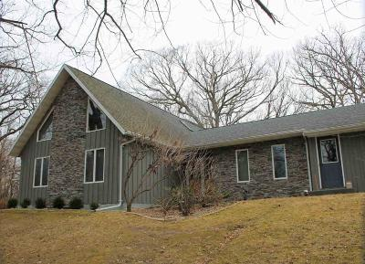 Fall River Single Family Home For Sale: W900 Fields Rd Road