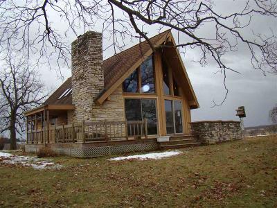 Dodge County Single Family Home For Sale: N6135 Gunn Rd Road