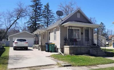 Fond Du Lac WI Single Family Home For Sale: $69,900