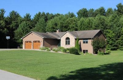 Columbia County Single Family Home For Sale: N3587 Otsego Rd Road