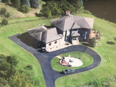 Columbia County Single Family Home For Sale: N3624 Sky High Rd Road