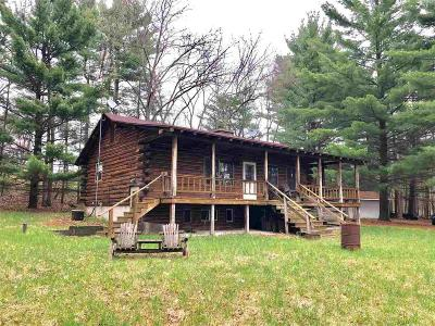 Columbia County Single Family Home For Sale: N8396 Starr Rd Road