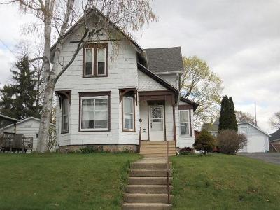 Beaver Dam Single Family Home For Sale: 314 Front St Street