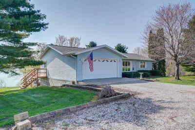 Dodge County Single Family Home For Sale: N9196 County Road Fw