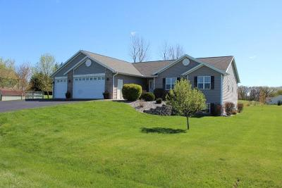 Columbia County Single Family Home For Sale: N6802 Bobbi Rd Road