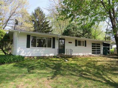 Markesan Single Family Home For Sale: W2773 Circle Dr Drive