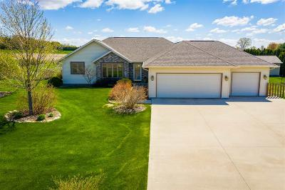 Dodge County Single Family Home For Sale: N7616 Burns Rd Road