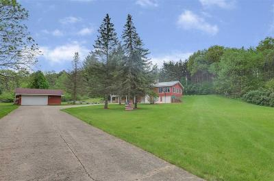 Columbia County Single Family Home For Sale: W6357 Patchin Rd Road