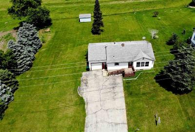 Green Lake County Single Family Home For Sale: W3320 Hwy 44/73