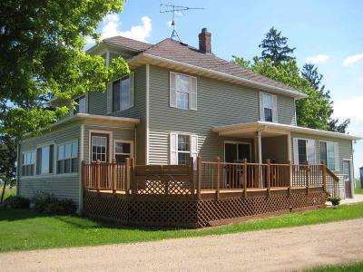 Dodge County Single Family Home For Sale: N9144 Hwy 151