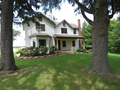 Fox Lake Single Family Home For Sale: N9715 County Road C