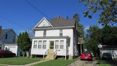 Beaver Dam Multi Family Home For Sale: 110 Pleasant St Street