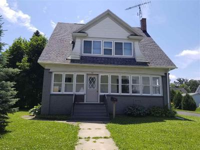 Waupun Single Family Home For Sale: 717 East Jefferson St Street