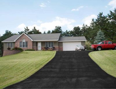 Columbia County Single Family Home For Sale: W7444 Hickory Ln Lane