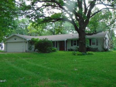 Waupun Single Family Home For Sale: W6809 Milligan Rd Road