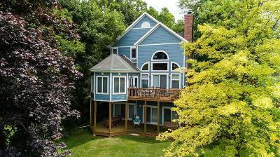 Green Lake Single Family Home For Sale: W2626 Oakwood Beach Rd Road