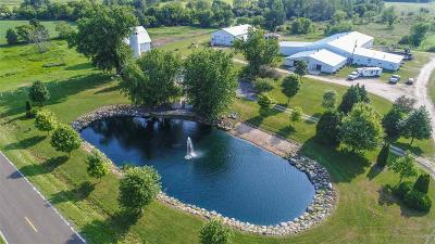 Columbia County Single Family Home For Sale: N8754 County Road Ee