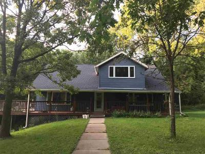Columbia County Single Family Home For Sale: N4698 Durwards Glen Rd Road