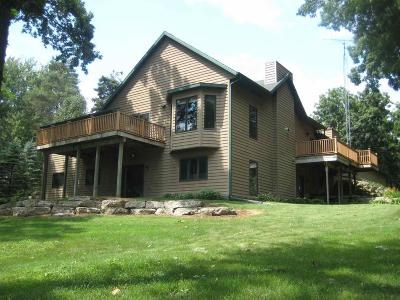 Green Lake County Single Family Home For Sale: W1991 Twin Lakes Rd Road