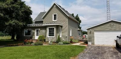 Columbia County Single Family Home For Sale: W8194 Thompson Rd Road