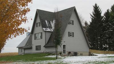 Dodge County Single Family Home For Sale: N4013 Sock Rd Road