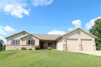 Columbia County Single Family Home For Sale: W3720 County Road B