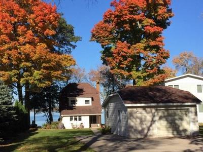 Fox Lake Single Family Home For Sale: N10517 Chief Kuno Tr