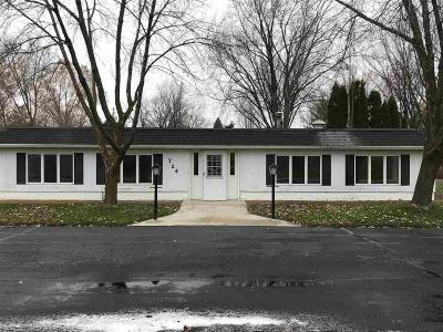North Fond Du Lac Single Family Home For Sale: 724 Lakeshore Drive Drive