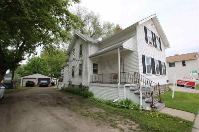 Oshkosh Multi Family Home For Sale: 511 Ohio Street Street