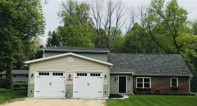 Green Lake County Single Family Home For Sale: 563 Sherwood Lane Lane